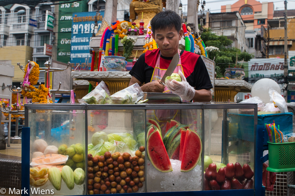 Thai fruit cart