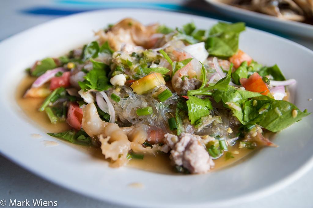 Thai mung bean noodle salad