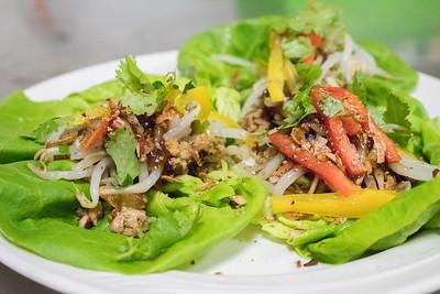Small Plates: Lettuce Wrap