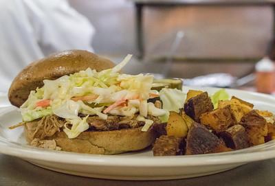 Sandwich: House Smoked Pull Pork