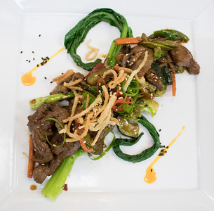Entree: Stir Fried Beef