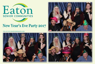 Eaton Senior Communities New Year's Eve Party - December 29, 2017