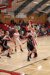 2/8/2013 Eaton Varsity Girl's Basketball vs Estes Park