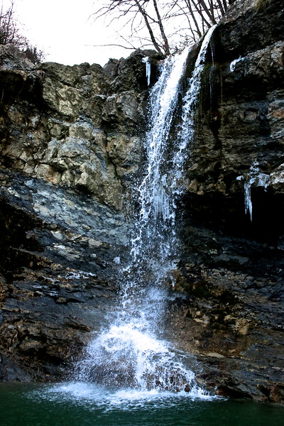 Cascade des Mathieux, Aude