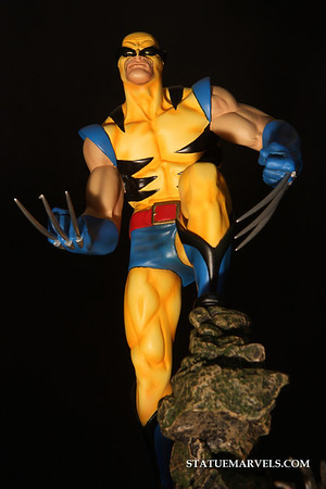 Bowen Designs Wolverine Original Costume Statue Website Exclusive