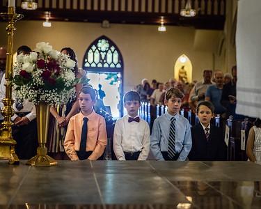 Sunday 8:30AM Mass First Communion