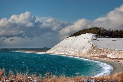 Ebey's Landing in Snow: January 2012.