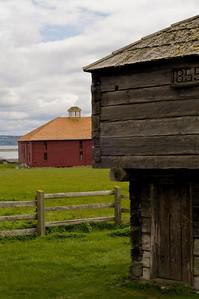 Crockett Barn and Blockhouse: on Whidbey Island.