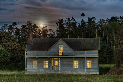 Ferry House at Moonrise