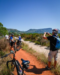 We did an ebike tour through the vineyards in Constantia in Cape Town this morning, finishing up at Groot Constantia. What a lovely way to spend the morning.