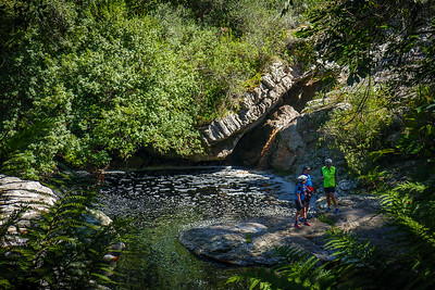 Pepsi Pools in the headwaters of Garden Route Dam - a great spot for a dip on a hot day.