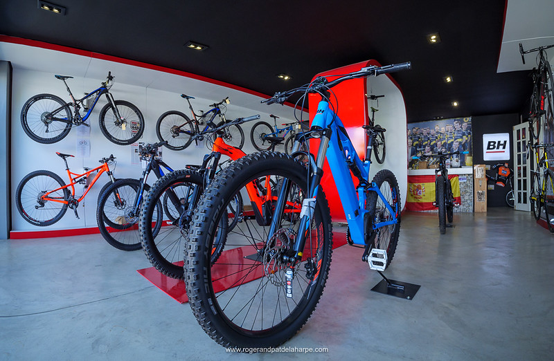 BH Bikes concept store in Cape Town, Western Cape. South Africa