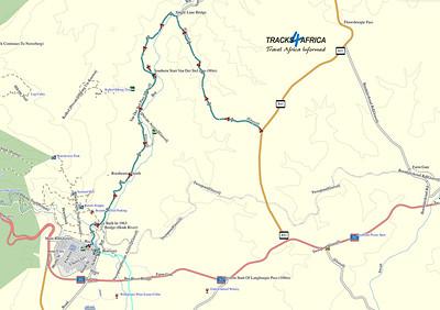 Map courtesy of Tracks4Africa