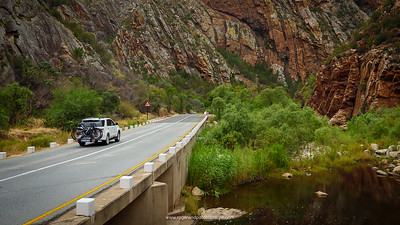 Meiringspoort - one of the big tourist attractions of the Karoo.