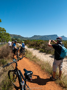 The single tracks on the eBiking (mountain biking) tour with eBike Cape Town were generally pretty good - not very technical at all. Western Cape. South Africa
