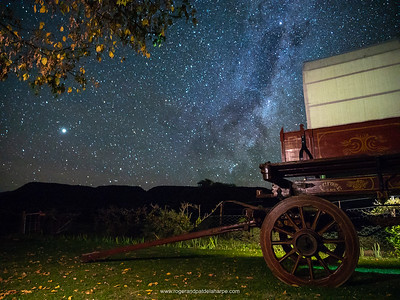 The night skies at Letskraal Guest Farm near Graaff Reinet are just amazing