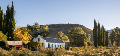 The historic Letskraal Guest Farm. Near Graaff Reinet. Eastern Cape. South Africa