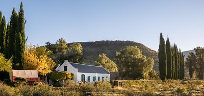 The historic Letskraal Guest Farm. Near Graaff Reinet. Eastern Cape. South Africa