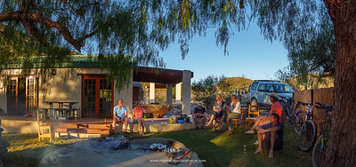Such were the evenings on the Giant Little Karoo Trek. Rietfontein Cottages.