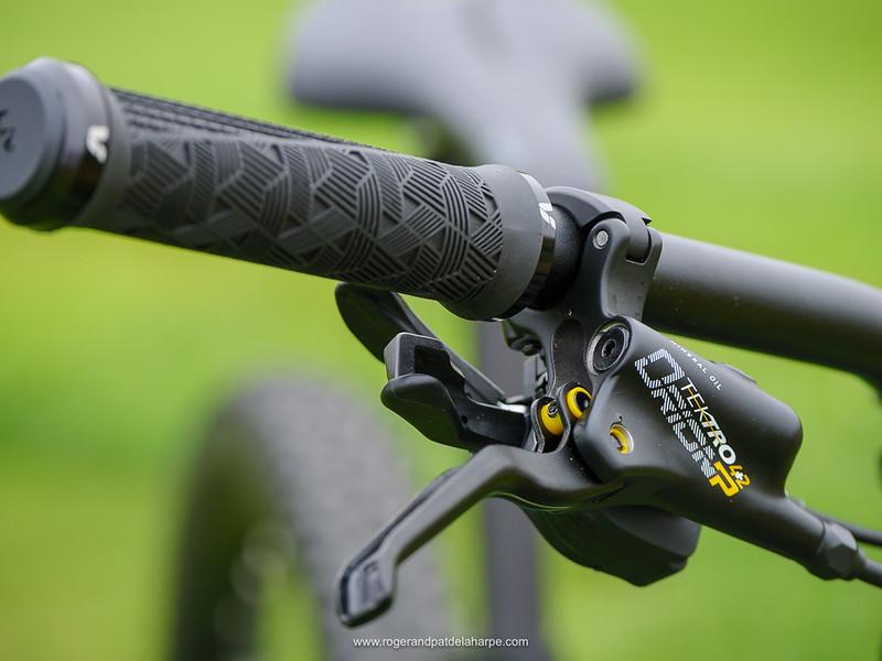 Tektro brakes provide ample stopping power
