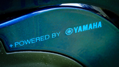 Powered by Yamaha. The Giant SyncDrive Pro has a Yamaha motor in the background and its torque sensing feature is a delight.