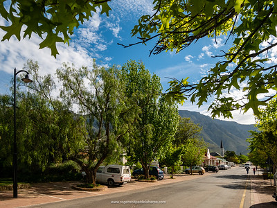 Main Street Greyton - quaint and very likeable.