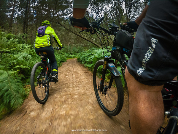 The well known and delightful Witfontein bike trails are just a stone's throw away.