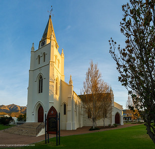 The foundation stone of the NG church in Montagu was laid on 1 November 1858, and it was consecrated on 21 May 1862.