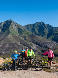 Part of the team - just a wonderful ride with some pretty awesome views of the Outeniqua Mountains.