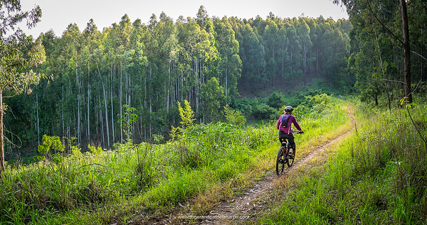 The Karkloof single tracks and trails are some of the best around.