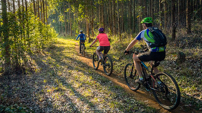 There is something for everyone in the Karkloof - easy single tracks and some really technical downhills for those that thrive on adrenaline.