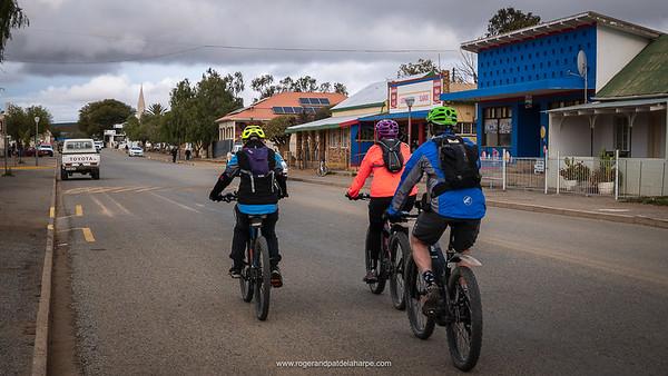 Loeriesfontein main street - a delightful little town.
