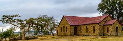 The church at Rorke's (Rorkes) Drift.. KwaZulu Natal. South Africa