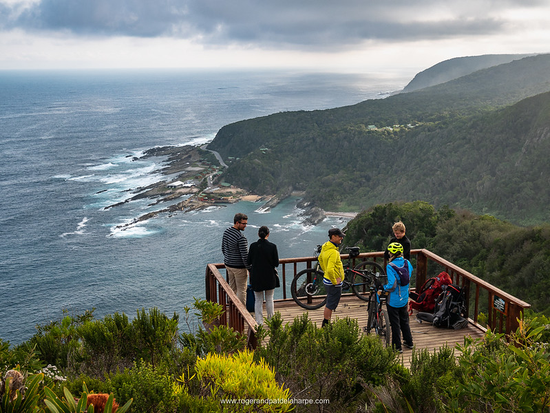 Incredible views from the viewpoint overlooking Storms River Mouth and the coastline to the west.