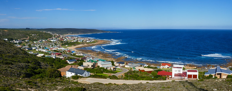 Sublime views of Jongensfontein, a sleepy little holiday town in the Western Cape.