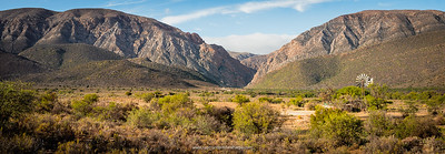 This narrow cleft in the mountains is the start of the Swartberg Pass