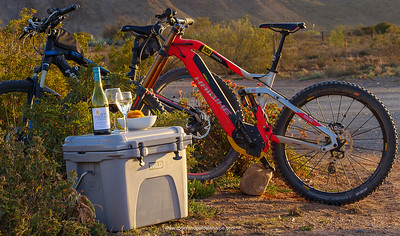 After a ride… What's to say, the cool box and Haibikes looking good.