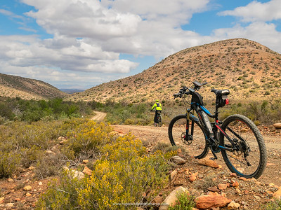 The terrain is rugged and harsh but what a wonderful place to ride.