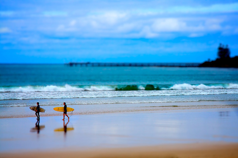 Lorne Surf Tiltshift