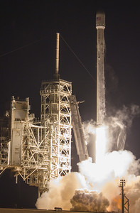 Echostar XXIII launch by SpaceX