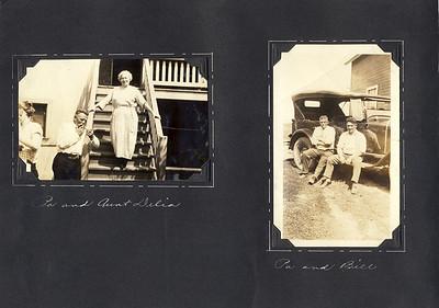 Pa & Bill   Pa &  Aunt Delia