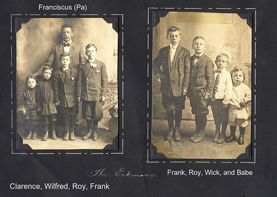 Eckman Family about 1911