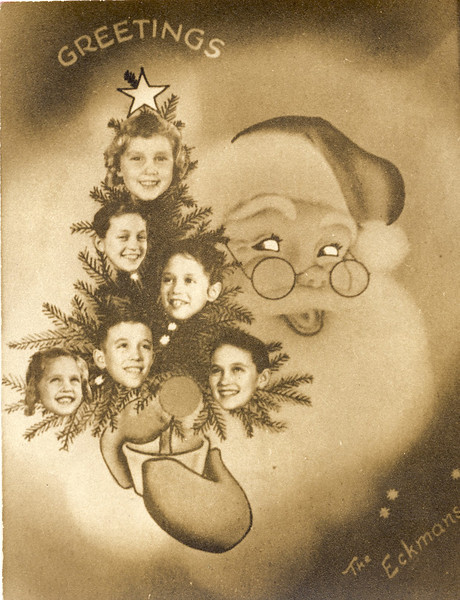 Eckman Family Christmas Cards & Family History