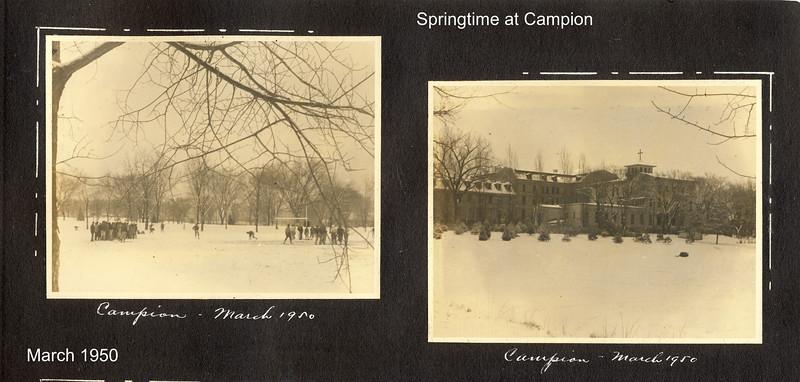 y Springtime at Campion