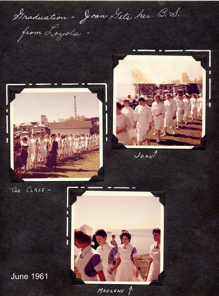 Joan's Graduation from Loyola  BSRN