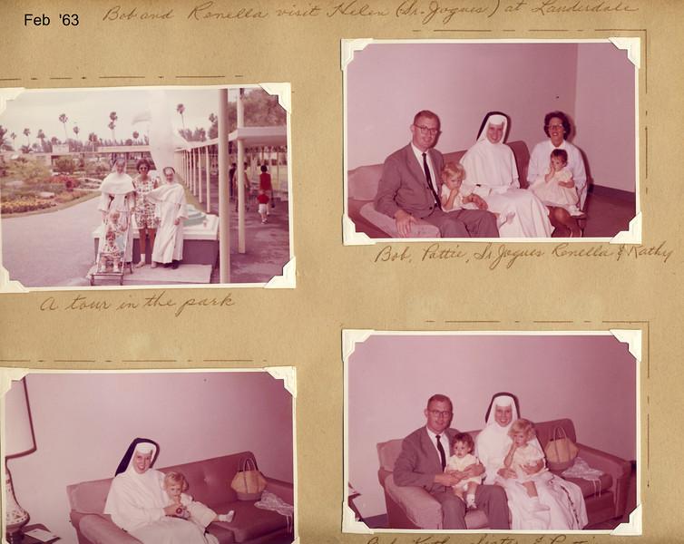 Gearys in Lauderdale with Sr  Jogues '63