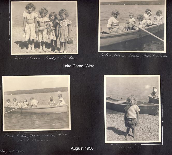 cat Lake Como in the 50s