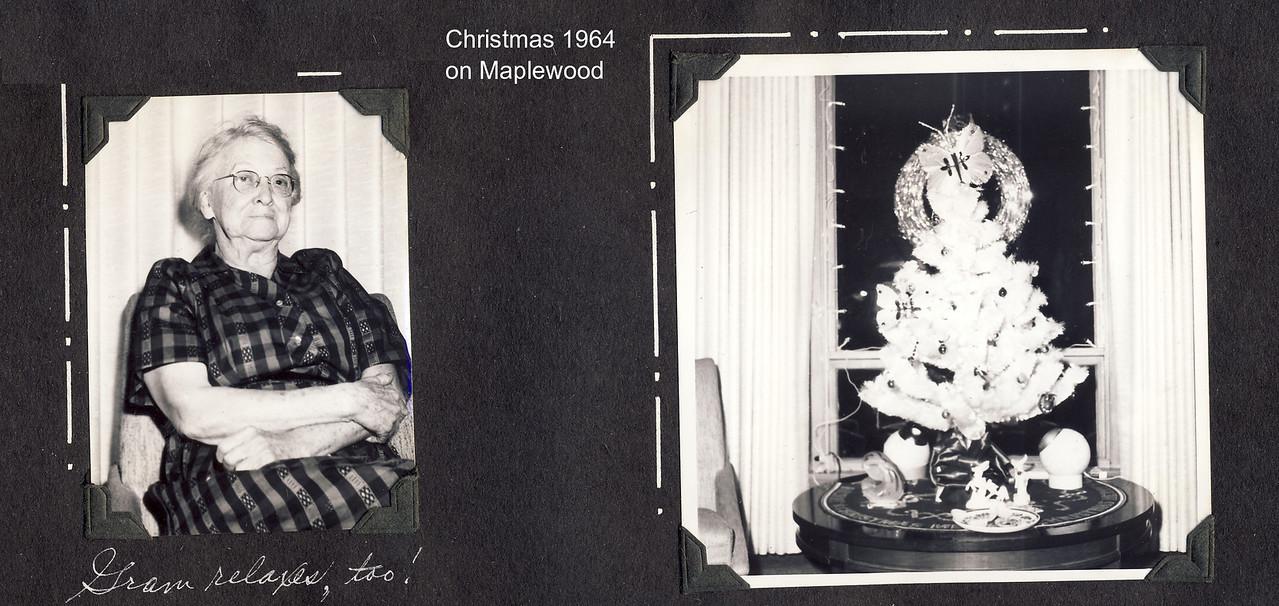 Christmas 1964 on Maplewood