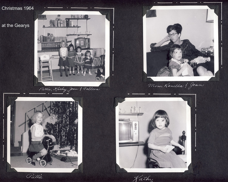 Christmas 1964 at the Gearys  a