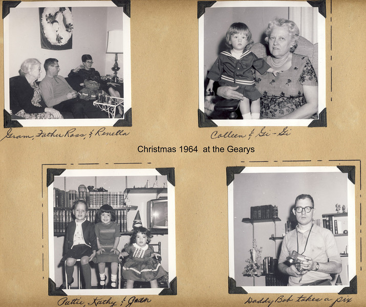 Christmas 1964 at the Gearys   c